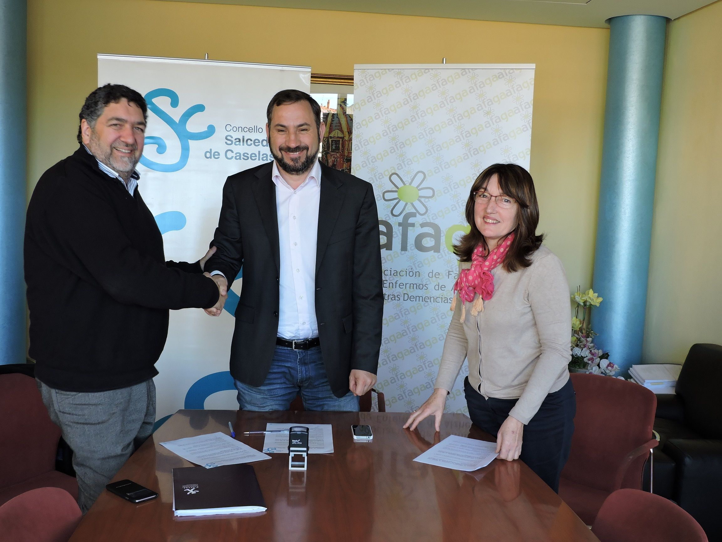 imagen firma acuerdo con Ayuntamiento de Salceda