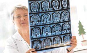 La neuróloga Ana Frank, este viernes en Vigo