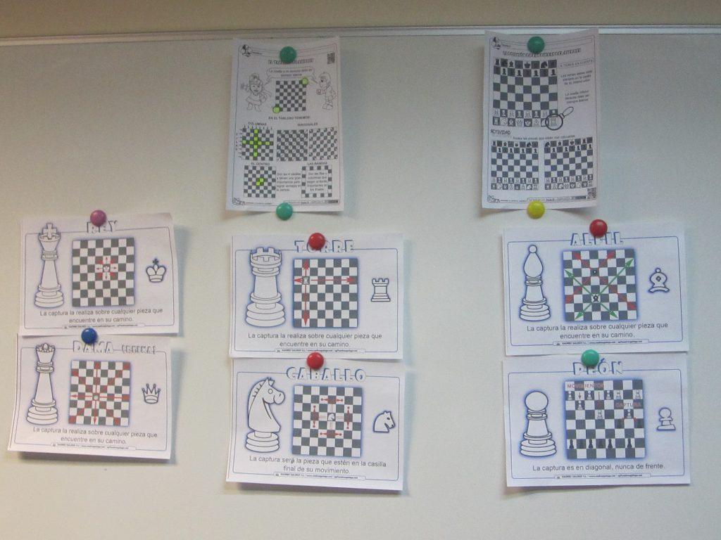 Activar la mente con ajedrez.
