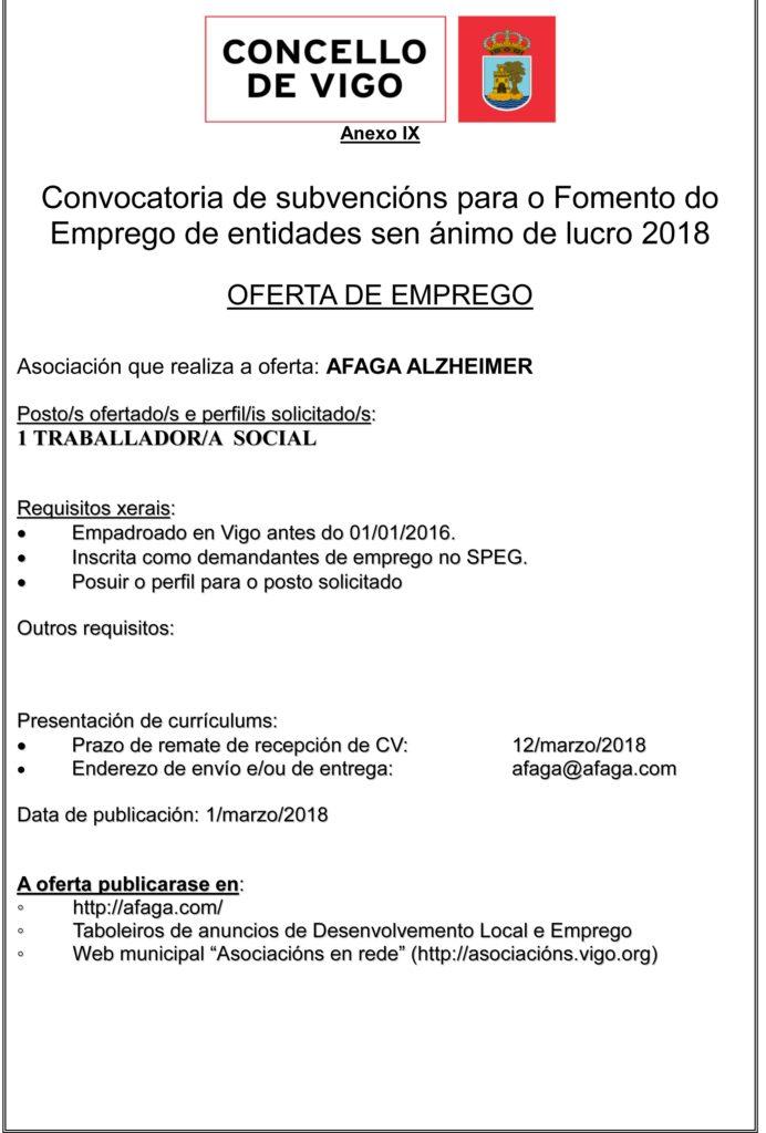 Empleo Concello de Vigo