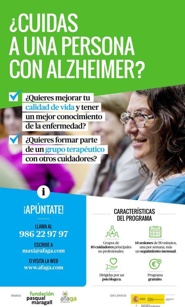 Curso para familiares y cuidadores en Vigo