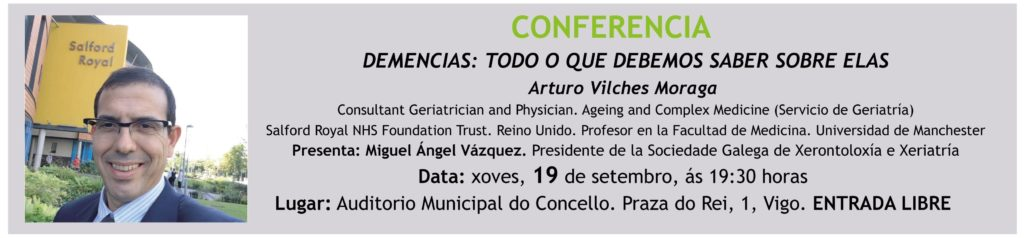 Conferencia sobre demencias