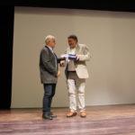 Entrega placa conmemorativa a Javier Pérez