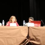 Inauguración de la conferencia a cargo de Yolanda Aguiar, concejala de Política Social.