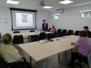 Users at Afaga Alzheimer Salceda de Caselas Therapeutic Center (Source: Afaga Alzheimer Archive, 2021)